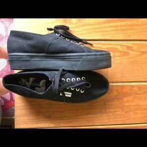 Platform superga sneakers